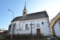 Kostel sv. Jana Křtitele.