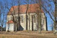 Dvojlodní kostel u Slavonic.