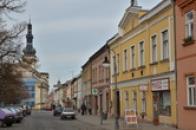 Záběr z Husova náměstí.
