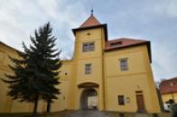 Vstupní část zámku.