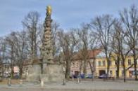 Trojiční sloup v Polné.
