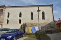 Zdejší synagoga.