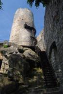 Hlavní věž hradu.