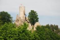 Typická silueta hradu.