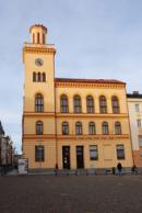 Pohled na budovu staré radnice.