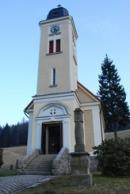 Kostel sv. Josefa v Loučné.