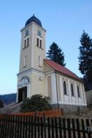 Kostel postaven v letech 1914 a 1915.