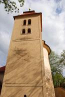 Hranolová věž z 12. století.