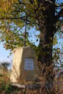 Křížek u hřbitova z roku 1903.