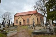 Kostel sv. Víta na zdejším hřbitově.