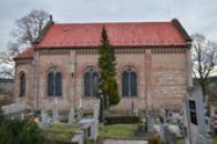 Pohled na kostel sv. Víta.