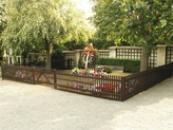 Hrob T.G.M. na místním hřbitově.