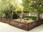 Hrob T.G. Masaryka na lánském hřbitově.