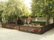 Hrob T.G.M. na lánském hřbitově.