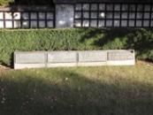 Detail hrobu rodiny Masarykových.