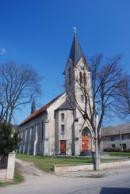 Kostel sv. Prokopa z roku 1908.