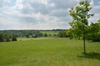 Zde stávala obec Lidice.