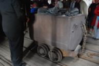 Důlní vozík...