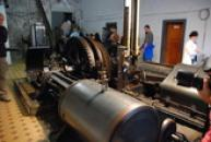 Parní těžní stroj Kooepe.