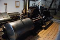 Pohled na těžní stroj Kooepe z roku 1905.