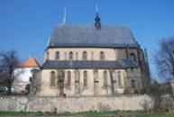 Pohled na kostel sv. Gotharda.