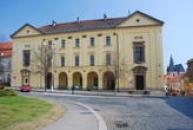 Vlastivědné muzeum ve Slaném.