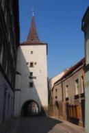 Velvarská brána.