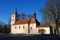 Kostel svatého Havla.