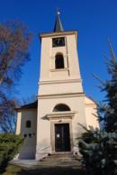 Zdejší kostel sv. Havla.
