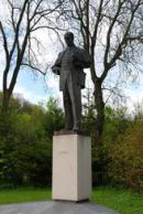 Socha Antonína Zápotockého.
