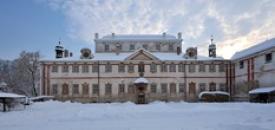Zimní panorama.