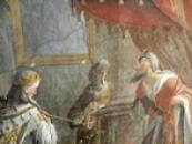 Malba v kapli.