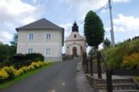 Kostel Panny Marie Bolestné.