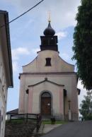 Kostel Panny Marie Bolestné v Hamrech.