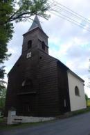 Pohled na kostel Neposkvrněného početí Panny Marie.
