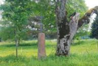 Křížek na cestě do Prášil.