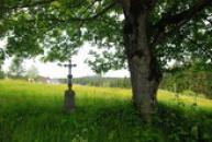 Křížek na kraji Prášil.