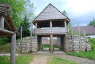 Keltský skanzen Archeopark.