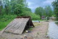 Záběr ze zdejšího Archeoparku.