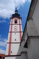 Věž chrámu sv. Václava