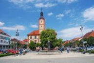 Pohled z náměstí Svobody.