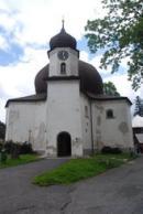Pohled na kostel Panny Marie Pomocné.