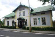 Budova zdejšího muzea.