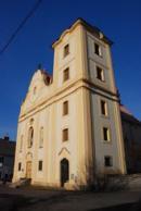 Pohled na kostel Archanděla Michaela.