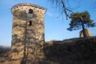 Hradní věž.