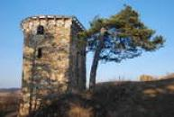 Dávná hradní věž.