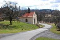 Pohled na kapličku v Ratiboři.