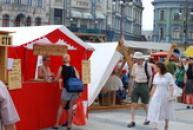 Historické slavnosti na náměstí Dr. Edvarda Beneše.