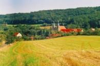 Pohled na zdejší klášter.