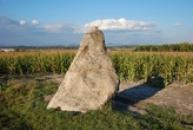Zdejší menhir Zakletý mnich.
